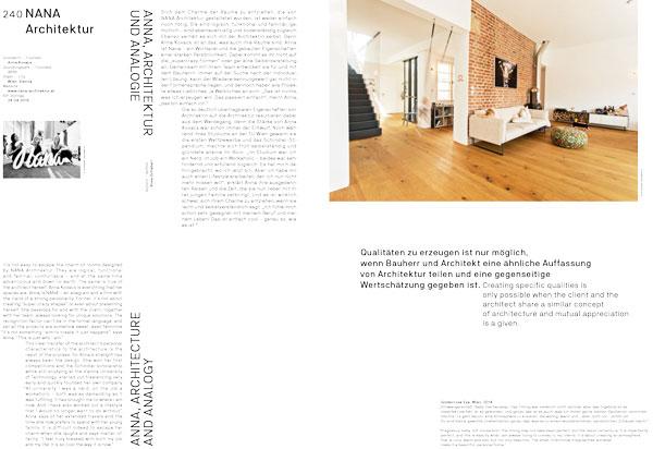 Anna, Architektur und Analogie