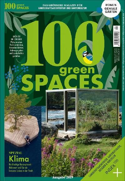 """100 GREEN SPACES zeigt ein kuratiertes Œuvre von Landschaftsarchitektur und Gartenkultur, das sich im neuen Heft zu einem inspirierenden Spektrum fügt und mit grünen Ideen für unsere Städte komplettiert wird. Das großzügig gestaltete """"Coffeetable Magazine"""" ist ein nachhaltig inspirierendes Kompendium für gestaltete Natur und grünes Design."""